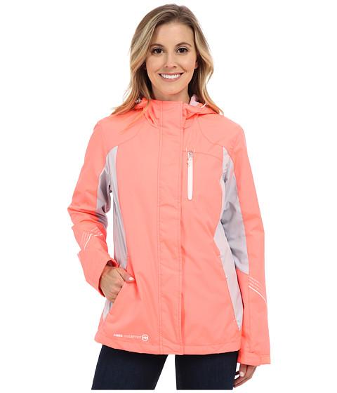 Imbracaminte Femei Free Country Multiripstop Jacket Sweet PapayaShell GreyWhite