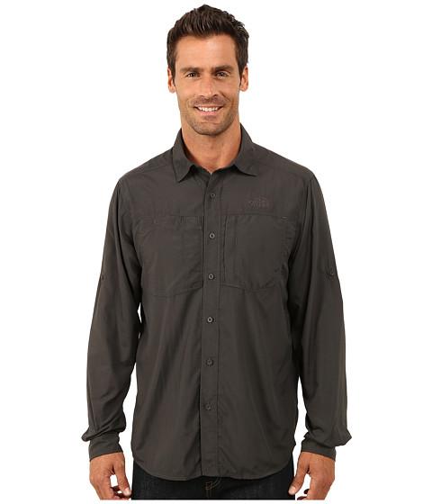 Imbracaminte Barbati The North Face Long Sleeve Tek Hike Shirt Asphalt Grey