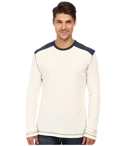 Imbracaminte Barbati Ecoths Aaron Long Sleeve Pullover Whisper White
