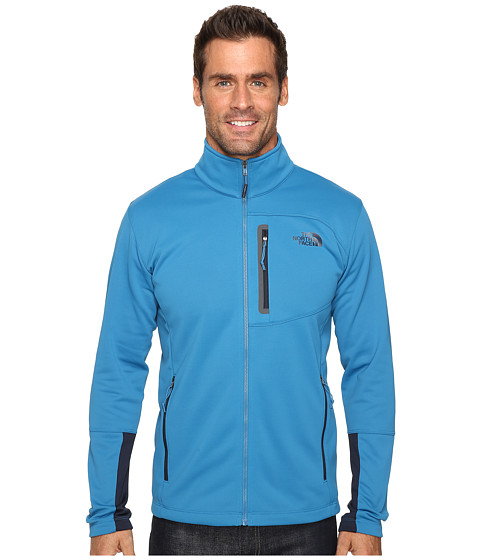 Imbracaminte Barbati The North Face Canyonlands Full Zip Sweatshirt Banff Blue (Prior Season)