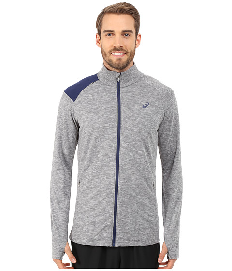Imbracaminte Barbati ASICS Thermopolisreg Full Zip Jacket Dark Grey Heather