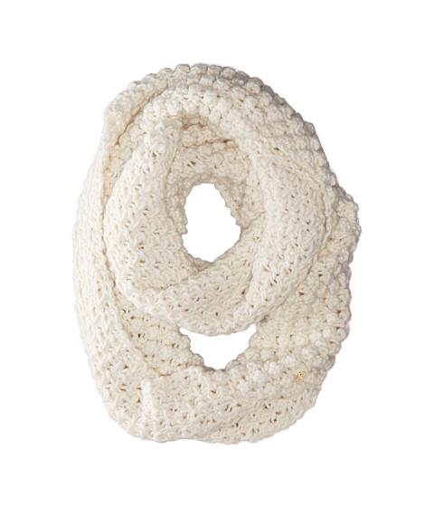 Accesorii Femei Cole Haan Popcorn Stitch Handknit Infinity Scarf Ivory