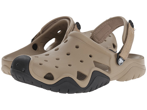Incaltaminte Barbati Crocs Swiftwater Clog KhakiBlack