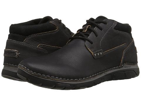 Incaltaminte Barbati Rockport Zonecush Rocsports Lite Plain Toe Boot Black Tumbled