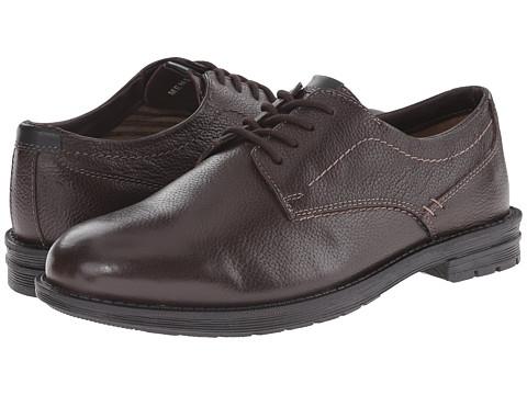 Incaltaminte Barbati Nunn Bush Douglas Plain Toe Oxford Dark Brown