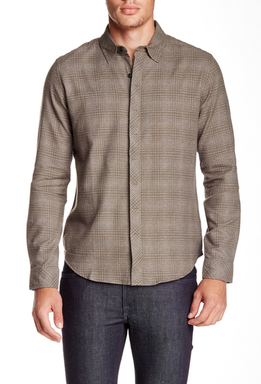 Imbracaminte Barbati Quinn Theo Long Sleeve Regular Fit Dress Shirt Olive