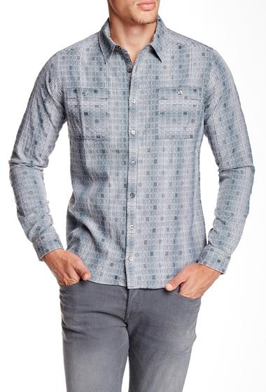 Imbracaminte Barbati Quinn Windon Jacquard Shirt Hunter Green