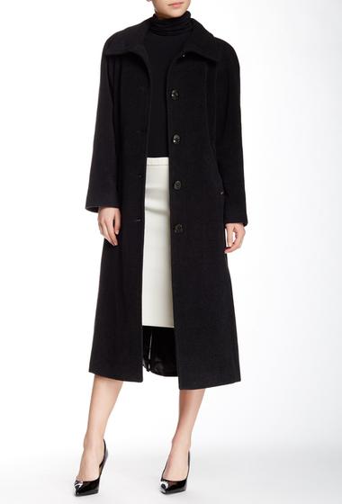 Imbracaminte Femei Ellen Tracy Full Length Wool Blend Coat Charcoal