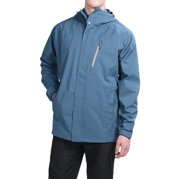 Imbracaminte Barbati White Sierra Headland Soft Shell Jacket - Waterproof REEF (02)