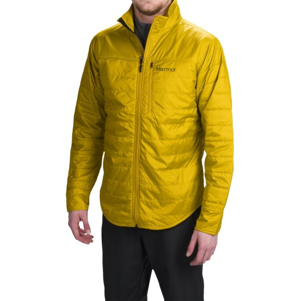 Imbracaminte Barbati Marmot Sundown Jacket - Insulated GREEN MUSTARD (04)