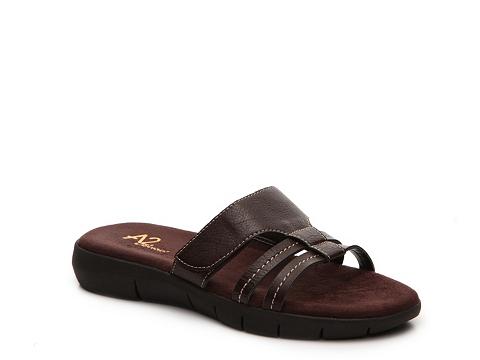 Incaltaminte Femei A2 Serenwipity Flat Sandal Brown