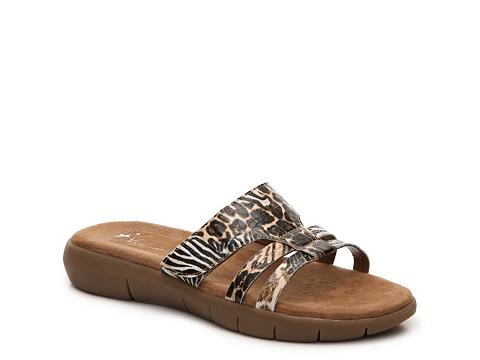 Incaltaminte Femei A2 Serenwipity Leopard Flat Sandal LeopardZebra