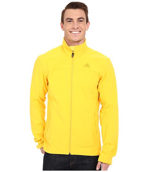 Imbracaminte Barbati adidas Outdoor Hiking Softshell Jacket Super Yellow