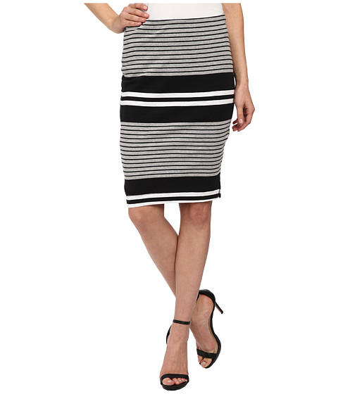 Imbracaminte Femei Three Dots Pencil Skirt w Side Vents Black