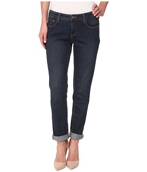 Imbracaminte Femei Christopher Blue Diane Roll Boyfriend Soft Vintage Denim Jean Night Wash