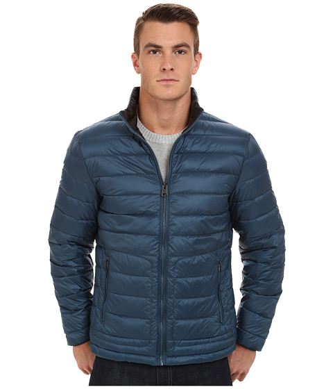 Imbracaminte Barbati Buffalo David Bitton Quilted Jacket Major Blue