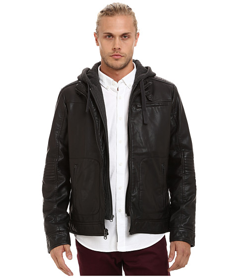 Imbracaminte Barbati Buffalo David Bitton 3-Pocket Jacket w Hood amp Bib Brown