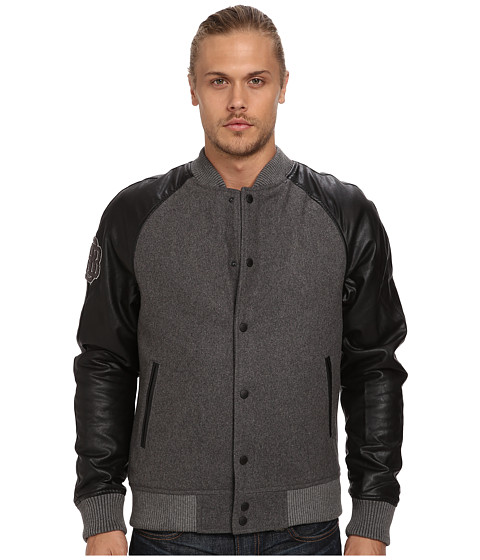 Imbracaminte Barbati Buffalo David Bitton Varisity Pu Mix Jacket Judley Ardent Combo