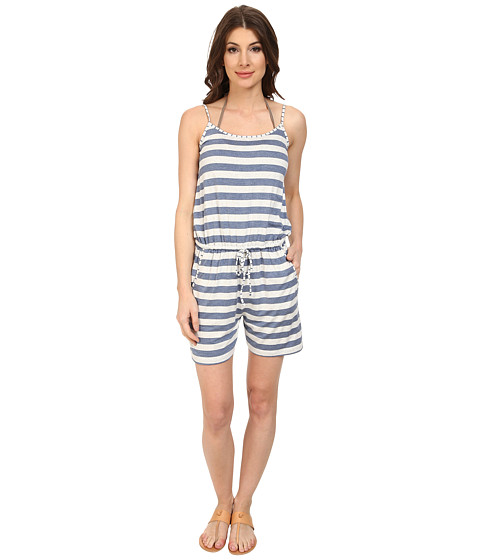 Imbracaminte Femei Tommy Bahama RayonSpandex Short Romper Cover-Up Heather Danubio