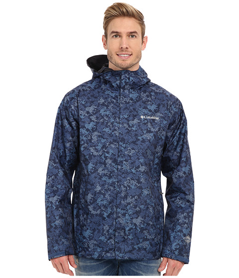 Imbracaminte Barbati Columbia Watertighttrade Printed Jacket Night Tide Digital Camo