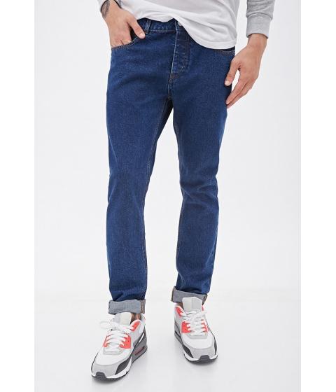 Imbracaminte Barbati Forever21 Classic Wash - Slim Fit Jeans Indigo