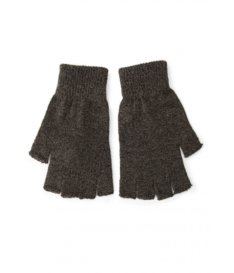 Accesorii Barbati Forever21 Men Fingerless Marled Knit Gloves Blackcharcoal