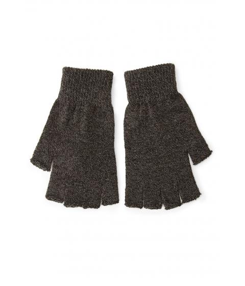 Accesorii Barbati Forever21 Men Fingerless Marled Knit Gloves Blackcharcoal