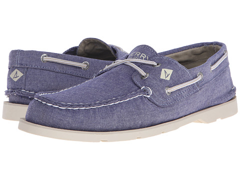 Incaltaminte Barbati Sperry Top-Sider Leeward 2-Eye Cross Lace Chambray Navy
