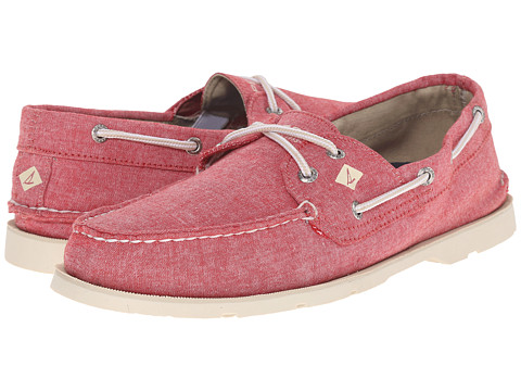 Incaltaminte Barbati Sperry Top-Sider Leeward 2-Eye Cross Lace Chambray Red Floral