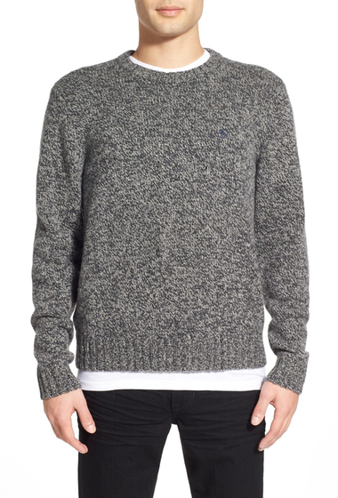 Imbracaminte Barbati Original Penguin Donegal Heritage Slim Fit Crew Neck Sweater PHANTOM