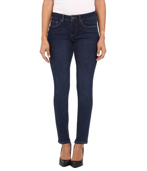 Imbracaminte Femei Jag Jeans Petite Grant Mid Rise Slim in Blue Shadow Blue Shadow