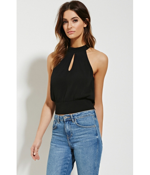 Imbracaminte Femei Forever21 Contemporary Cutout Top Black