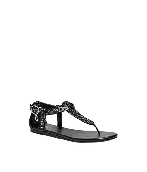 Incaltaminte Femei GUESS Sia T-Strap Sandals black