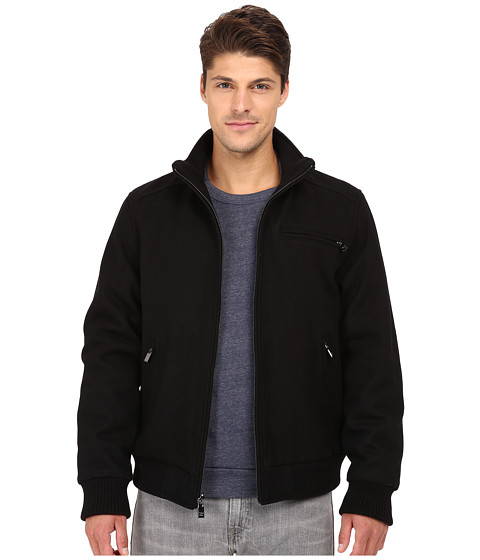 Imbracaminte Barbati Calvin Klein Wool Bomber Black