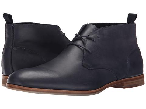 Incaltaminte Barbati Calvin Klein Farnel Dark Navy Washed Leather