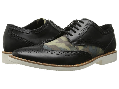 Incaltaminte Barbati Stacy Adams Sweeney BlackOlive Camouflage Suede