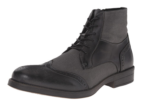 Incaltaminte Barbati Steve Madden Divon Black Leather