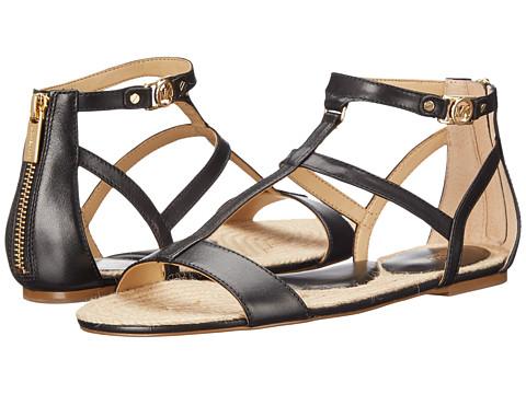 Incaltaminte Femei Michael Kors Bria Flat Sandal Black