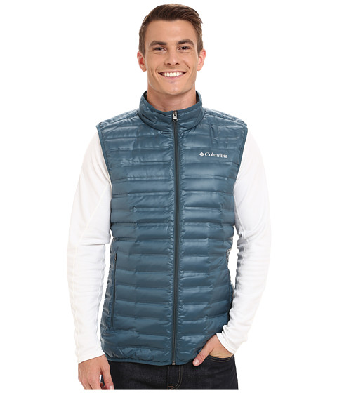 Imbracaminte Barbati Columbia Flash Forwardtrade Down Vest Everblue