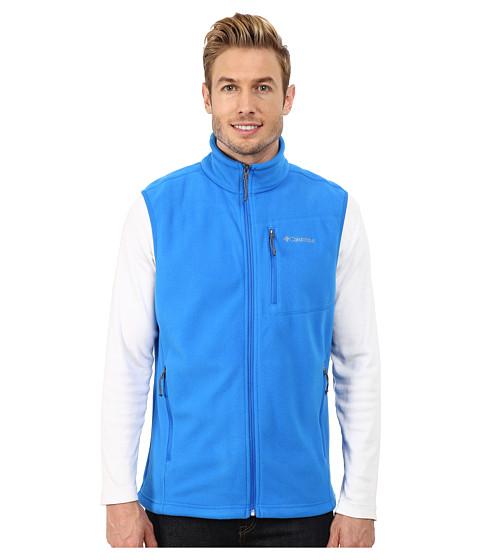 Imbracaminte Barbati Columbia Cascades Explorertrade Fleece Vest Hyper Blue