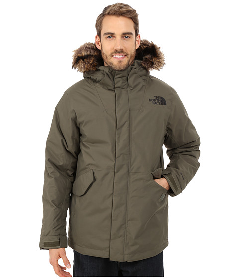 Imbracaminte Barbati The North Face Mount Logan Jacket New Taupe Green