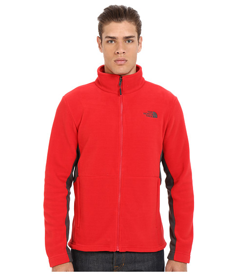 Imbracaminte Barbati The North Face Khumbu 2 Jacket TNF RedAsphalt Grey