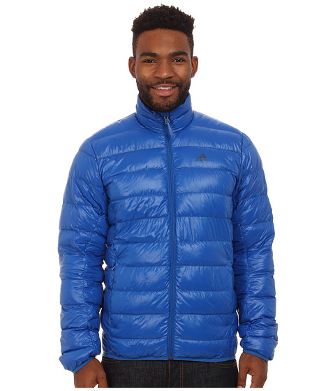 Imbracaminte Barbati adidas Outdoor Light Down Jacket Blue Beauty