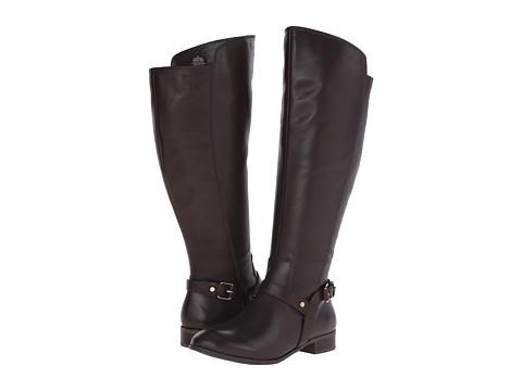 Incaltaminte Femei Anne Klein Kahlan Wide Dark Brown Multi Wide Leather