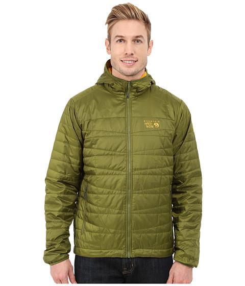 Imbracaminte Barbati Mountain Hardwear Switch Fliptrade Hooded Jacket AmphibianInca Gold