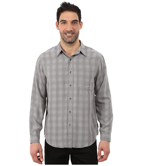 Imbracaminte Barbati Royal Robbins San Juan Plaid Long Sleeve Shirt Pewter