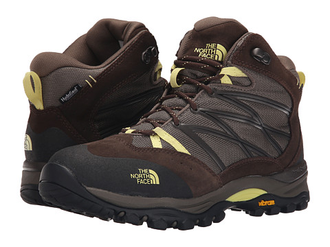 Incaltaminte Femei The North Face Storm II Mid WP Shroom BrownChiffon Yellow (Prior Season)