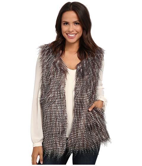 Imbracaminte Femei Brigitte Bailey Gregarious Faux Fur Vest Soft Mauve