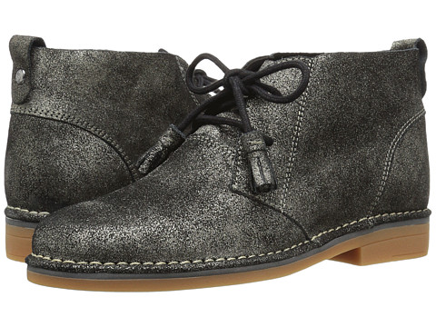 Incaltaminte Femei Hush Puppies Cyra Catelyn Gunmetal Glitter Leather