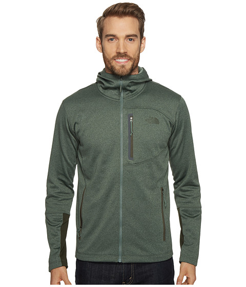 Imbracaminte Barbati The North Face Canyonlands Hoodie Duck Green Heather (Prior Season)